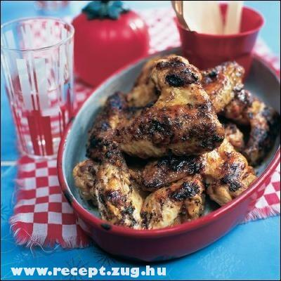 Csirkeszárny roston: olcsó és szeretik!