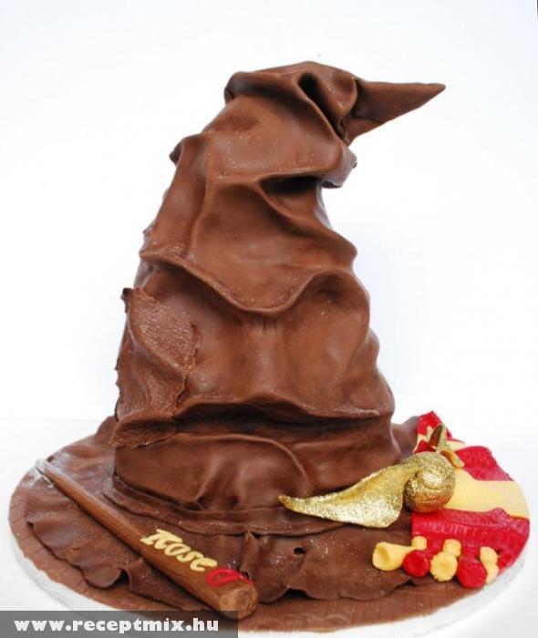 Varázslósapka csokiból