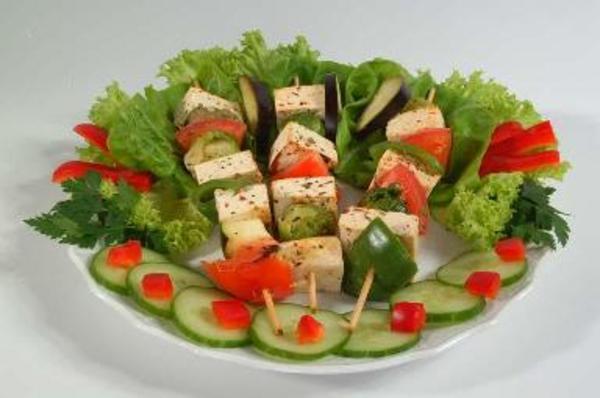Nyárson sült tofu