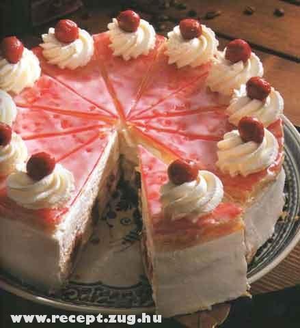 Meggyes torta