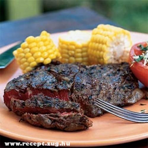 Grill - steak kukoricával!