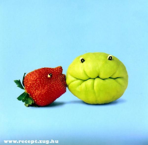 Gyümölcs puszi
