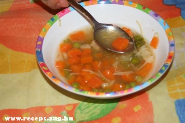 Tavaszi zöldség leves