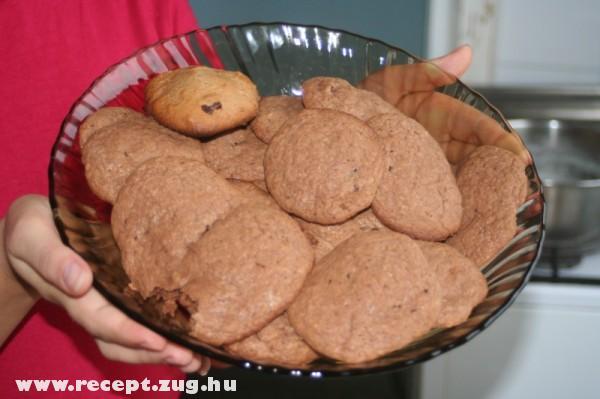 Amerikai süti - American cookie (Adrienn módra)