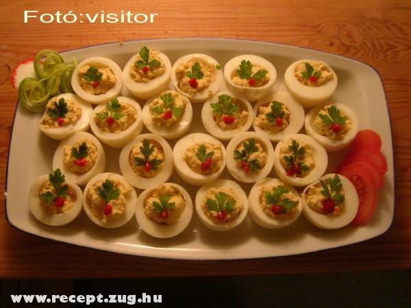 Töltött tojás Sy módra