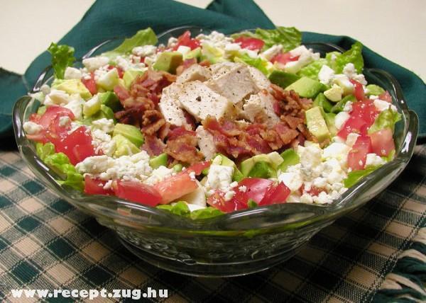 Cobb vegyes saláta