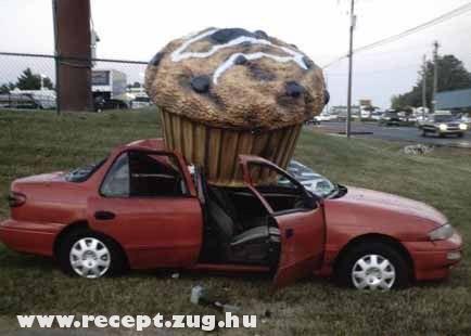 Muffin esett a kocsimra!