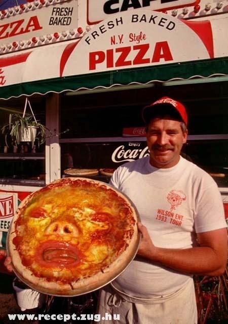 Arc a pizzában