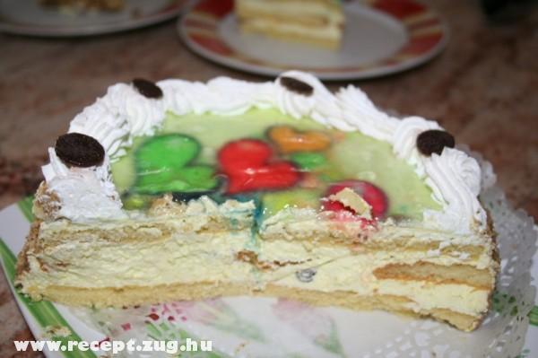 Szerelmes Valentin torta (oroszkrém torta, ami szülinapra is jó!)