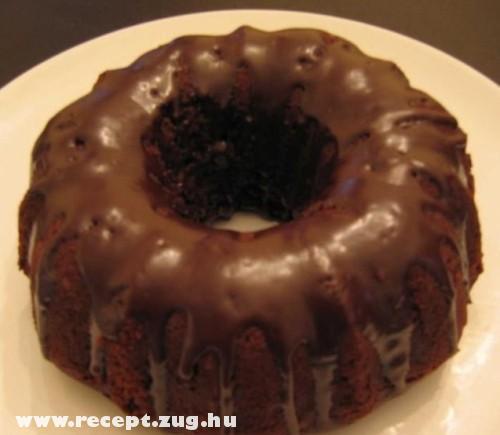 Csokis kuglóf