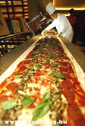 Méteres pizza