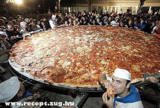 Giga pizza