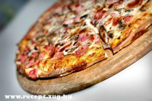 Martha Stewart falapon sütött pizzája