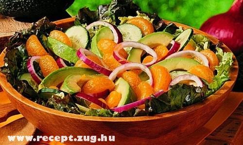 Narancs saláta