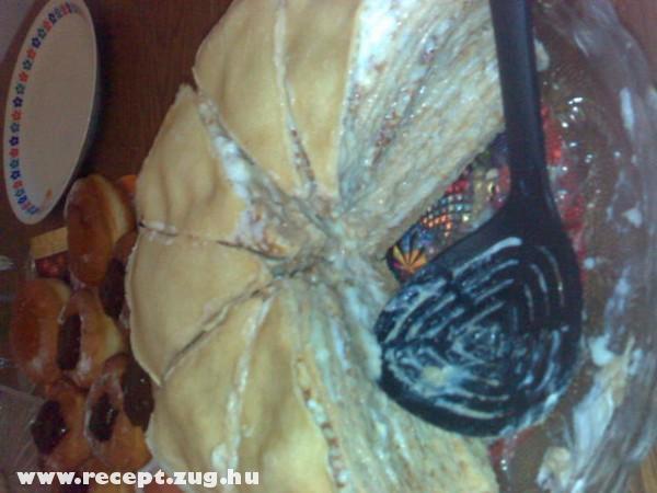 Palacsinta torta - krémes