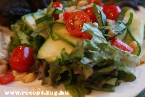 Cukkini saláta