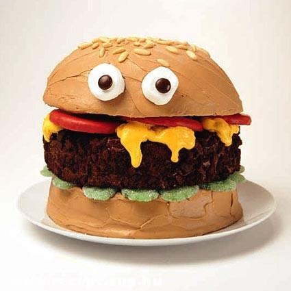 Téged néz a hamburgerem!
