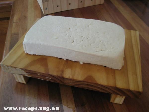 Tofu tömb
