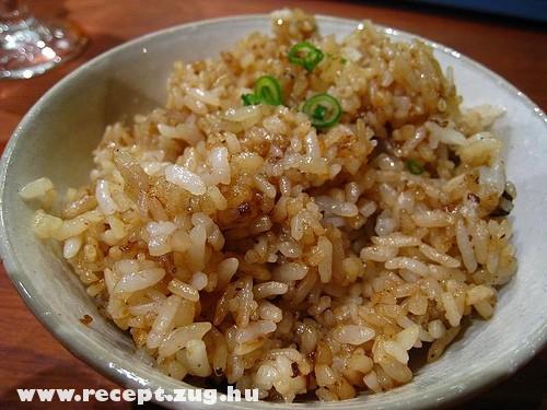 Fokhagymás rizs