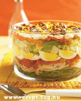 Rétegelt saláta