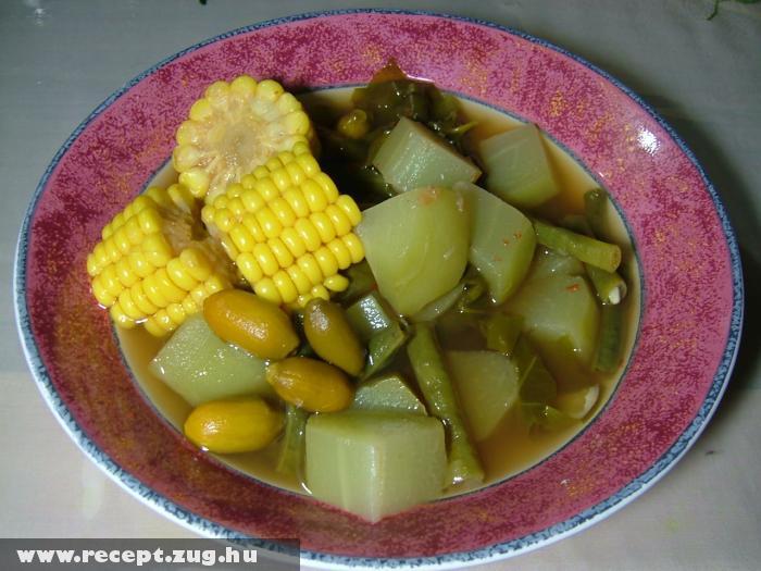 Ázsiai zöldségleves