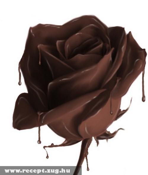 Csokoládé rózsa
