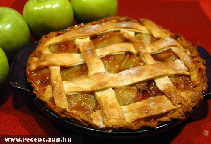 Almás pite (nem amerikai, hanem angol)