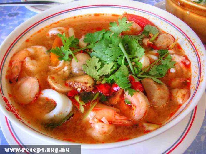 Thai rák leves