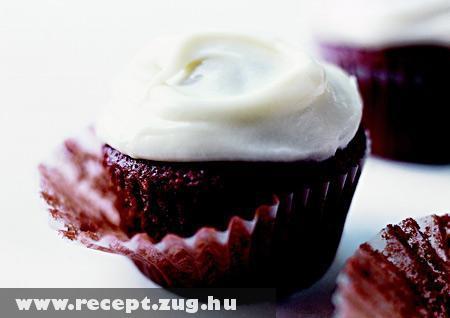 Csokis muffin kókuszhabbal