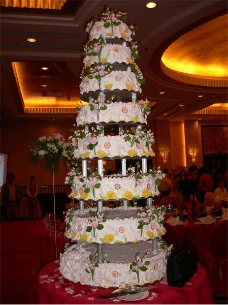 8 emeletes torta