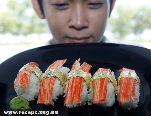 A világ legdrágább szusija