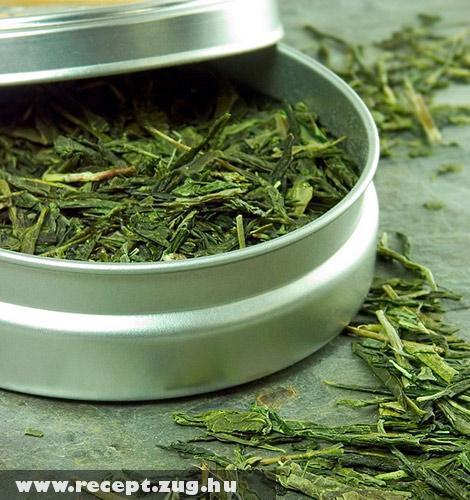 Szárított zöld tea