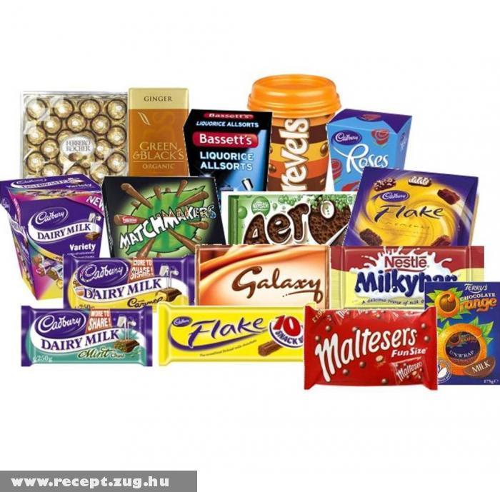 Csokoládé márkák