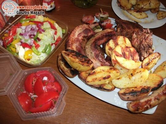 Grill Vacsora