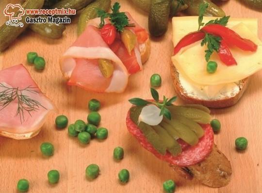 Sok - sok zöldség a hideg reggelihez