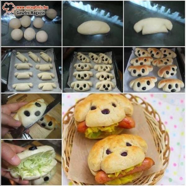 Süssünk otthon kutyuskás szendvics zsömlét!