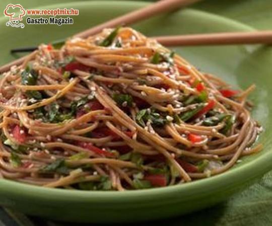 Szénhidrátszegény, diabetikus tészta zöldséggel