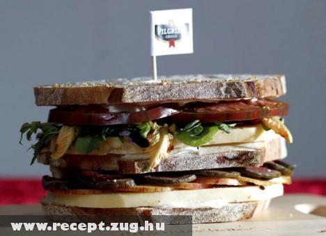 Extra sajtos szendvics
