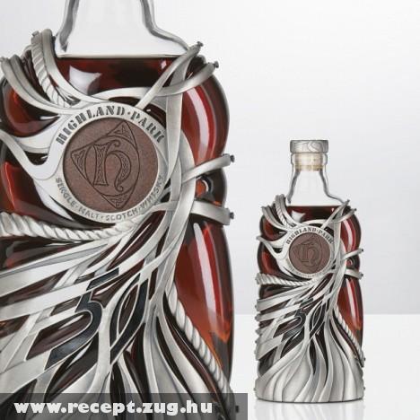 50 éves Whisky: Minõségi italhoz jár a prémium csomagolás