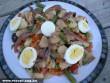 Egzotikus saláta tojással
