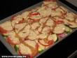 Rakott zöldségek sütés elõtt