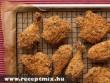 Bundás csirke sütéshez elõkészítve