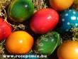 Húsvéti festett tojást a locsolkodóknak