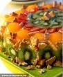 Gyümölcstorta kekszdarabokkal