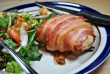 Baconbe tekert csirkemell
