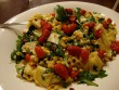 Fincsi vegyes zöldséges tészta