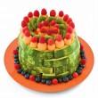 Gyümölcsből készült torta