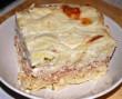 Húsos rakott tészta