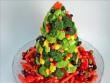 Karácsonyfa zöldségekből