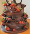 Nem mindennapi csokis epres süti